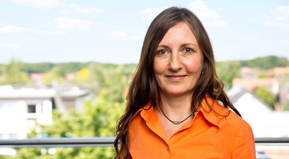 Karin Weber, kaufmännische Angestellte